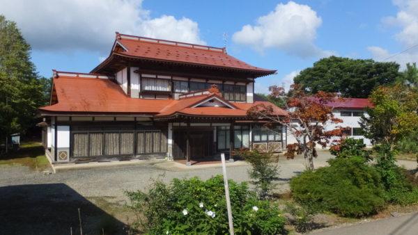 【No.3】浄法寺地区の農家住宅(たばこ関連設備併設)